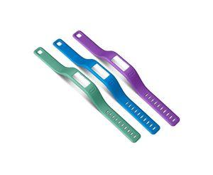 Garmin - Tragriemen (Handgelenk) - große Größe - Blau, Violett, teal - für Garmin vívofit