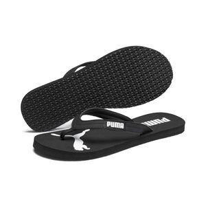Puma Cozy Flip Wns, PUMA-BLACK-PUMA-WHITE, 8