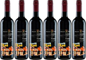 6x Regent Rotwein trocken Großes GewächsSiegel 2015 – Weingut Hirn & Hundertwasser im Weinparadies, Franken – Rotwein