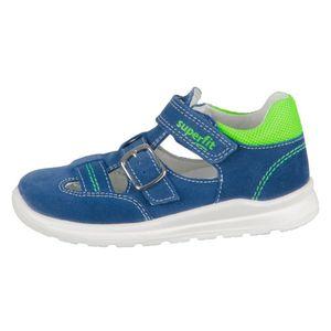 Superfit Jungen Sandale in Blau, Größe 26