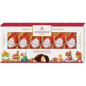 Niederegger Marzipan Eier 6 Osterei Pralinen Zartbitter 100g 2er Pack