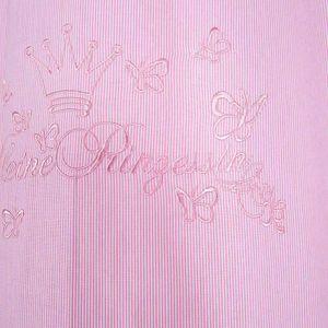 Kinderzimmer Gardinen / Vorhänge Kleiner Prinz oder Kleine Prinzessin, ca. 140 x 230 cm, Farbe:cream, Motiv:Kleiner Prinz