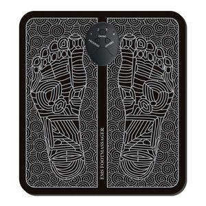 Elektrisches Fußmassagegerät tragbare Massagematte Fußmassagekissen für Herren Damen