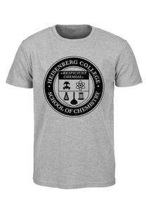 Breaking Bad T-Shirt Men - HEISENBERG COLLEGE - Grey, Größe:S