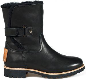 Panama Jack Felia Igloo Damen Winterstiefel Schwarz Schuhe, Größe:40
