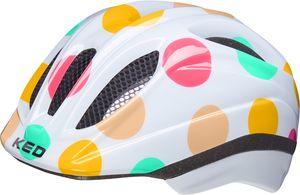 KED Meggy II Trend Helm Kinder dots colorful Kopfumfang S/M | 49-55cm