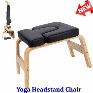 Yogahocker Kopfstandhocker Kopfstand Trainingsstuhl Yogastuhl Gym Sport Home Trainer Bank bis150KG