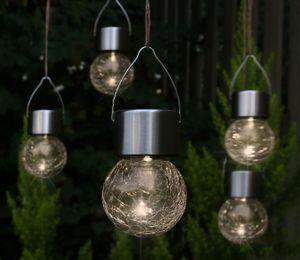 LED Solar Hängeleuchten Set - 5-teilig
