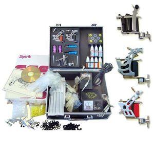 Tattoo Maschine Kit Professionelle Komplette DIY Design 4 Tattoo Maschine 7 Tinte Tattoo Set