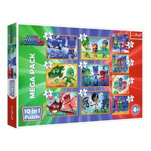 Puzzle 10w1 Pidżamersi - Dzielni