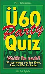 Ü-60 Party Quiz, Ab 12 Jahren, 2-6 Spiel