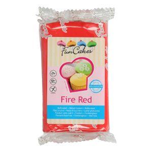 FunCakes Fondant -Fire Red- -250g-