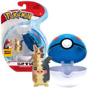 Pokémon - Clip´n Go - Morpeko & Superball