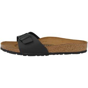 BIRKENSTOCK Madrid Damen Slipper Schwarz Schuhe, Größe:39