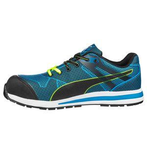 Puma Blaze Knit Low S1P 643060, Farbe:blau, Schuhgröße:42 (UK 8)