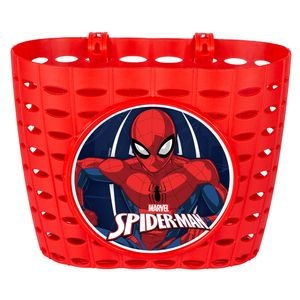 Disney Spider-Manfahrradkorb Junior 20 cm rot