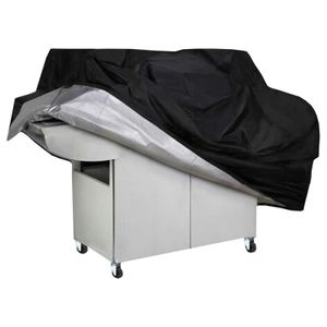 Grillabdeckung BBQ Grill Abdeckhaube Gasgrill Schutzhülle Regenschutz 170cm UV Schutz Wetterbeständig Wasserdicht