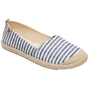Roxy Damen Sneaker FLORA II , Größe Schuhe:37, Farben:uwp-blue/white print