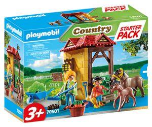 PLAYMOBIL Country 70501 Starter Pack Reiterhof