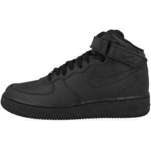 NIKE AIR FORCE 1 MID (GS) Sneaker Schwarz Schuhe, Größe:39