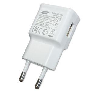 Samsung - EP-TA50EWE - Schnell Ladegerät + USB Typ C Kabel - Weiss