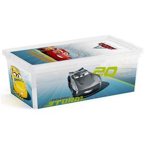 KIS Box mit Cars-Motiven, 6 Liter Volumen, Staubschutz