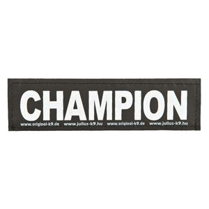 Julius-K9 Klettsticker L Champion