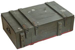 Munitionskiste AD-81 Armeekiste Militärkiste Schatztruhe Holztruhe 20-40 Jahre alt Holzkiste Holztisch