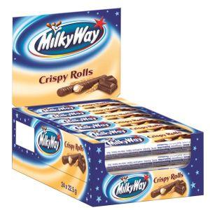 Milky Way Crispy Rolls Schokoriegel 24 Packungen