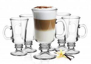 Irish Coffee Gläser mit Henkel und Edelstahl-Löffeln (gratis) Kaffeegläser