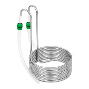 Royal Catering Kühlspirale - Ø 26 cm - 10 Schleifen - Edelstahl