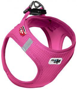 Curli Vest Geschirr Air-Mesh, Farbe:Fuchsia, Größe:Größe 2XS