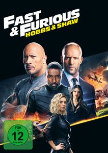 Fast & Furious: Hobbs & Shaw (DVD) Min: 131DD5.1WS