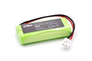 vhbw NiMH Akku 850mAh (2.4V) kompatibel mit Babyphone Tomy Baby Monitor TD300, TD350 Ersatz für Tomy LP175N, Tomy LP175, P71029, P71029B.