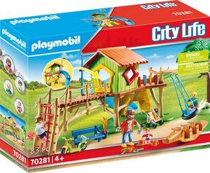 Playmobil Abenteuerspielplatz, City Life, 70281
