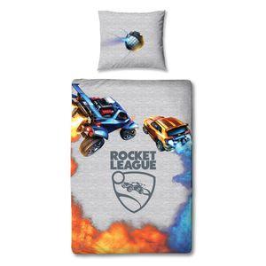 Rocket League Gamer Bettwäsche 80x80 + 135x200 cm · Jungen / Teenager Bettwäsche - 100% Baumwolle