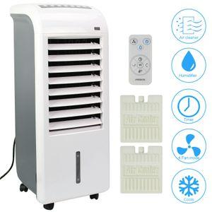 AREBOS 4in1 Aircooler Luftkühler Luftreiniger Luftbefeuchter Ventilator Mobile Klimaanlage 4,5L