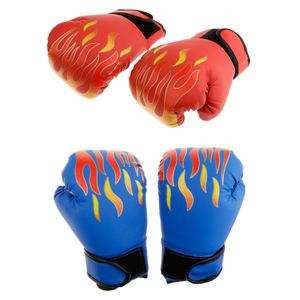 2 Paar PolyurethanBoxing Trainingshandschuhe Mma Kämpfende Stanzende Sandsackhandschuhe