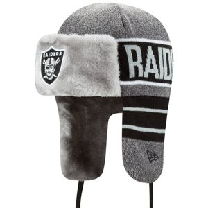 New Era Wintermütze FROSTY TRAPPER - Oakland Raiders