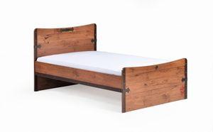 Cilek PIRATE XL Bett Kinderbett Kinderzimmer Braun 120x200 cm