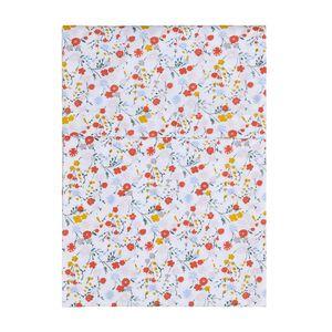Baby's Only Baby Bettlaken Bloom - Weiß mit Blumenmuster - 80x100 cm