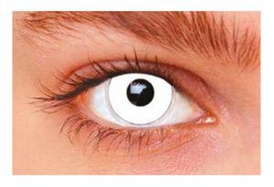 Witbaard kontaktlinsen Weiß Aus Silikon weiß