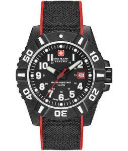 Swiss Military Hanowa Herrenuhr Black Carbon 06-4309.17.007.04
