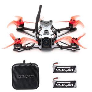 EMAX Drohne Tinyhawk II Renndrohne FPV Drohne 120 km / h F4 5A ESC Bš¹rstenloser Motor 7000KV RunCam Nano2 700TVL 37CH 25/100 / 200mW VTX FPV Quadcopter BNF