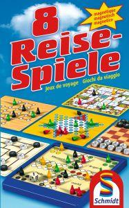 Schmidt Spiele 8 Reise-Spiele, magnetisch