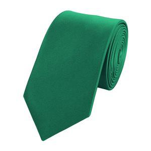 Schlips Krawatte Krawatten Binder 6cm grün  Fabio Farini