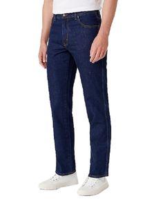 Wrangler - Herren Jeans Texas Non Stretch (W12105), Größe:W50/L32, Farbe:DARKSTONE (009)