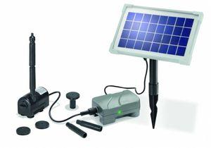 Esotec 101709 Esotec Solarpumpe Solarpumpensystem Rimini PLUS mit Akku