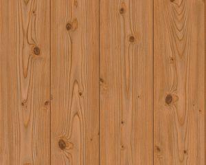 Holztapete Holzwand Braun Papier Natur Landhaus Natur Modern Holzbalken Holz Streifen Galaulle