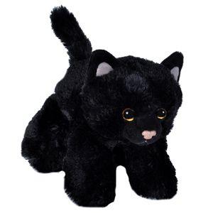 Wild Republic Hug'Ems Schwarze Katze 18089 - Wild Republic Katze 18cm